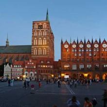 Stralsund_Alter_Markt_Abend